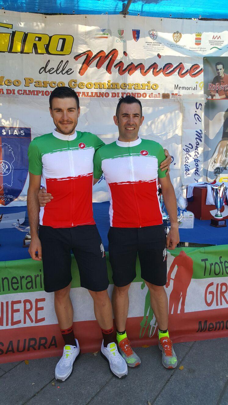 Giro delle Miniere: Marongiu e Spiga, campioni nazionali cronometro FCI
